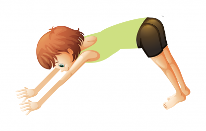 Downward Facing Dog by Actively Balanced Kids