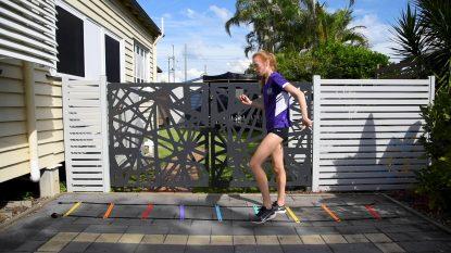 Active workout ladder